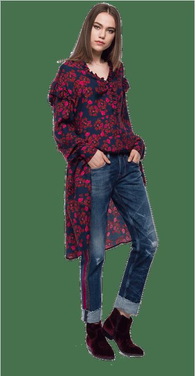 Vestido-Para-Mujer-Replay