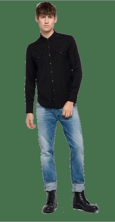 M498600083008098M-Camisa-Para-Hombre-Shirt