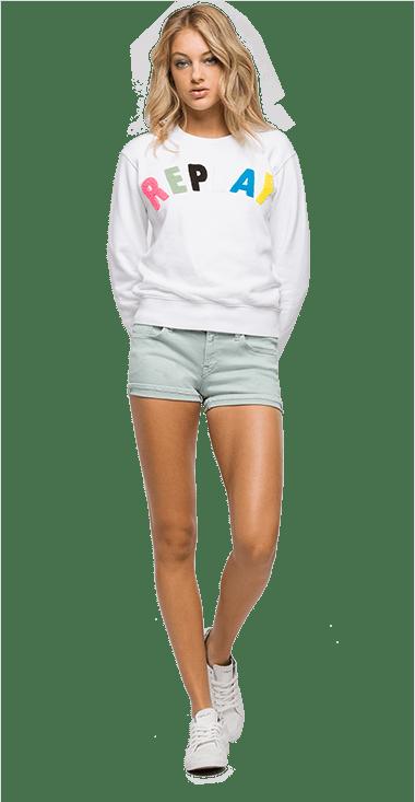 274afe7314 Buzo Para Mujer Buzo Replay En Colores