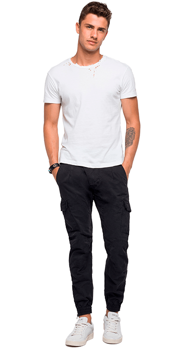 Hombre Pantalones 34 Replay Jeans
