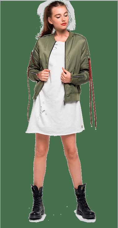 Mujer Chaquetas 151 MULTICOLOR – Replay Jeans