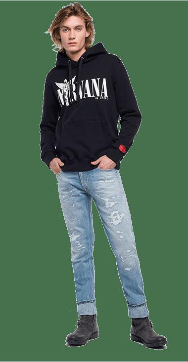 cf3ac3fb49 Hombre - Buzos 150 S – Replay Jeans