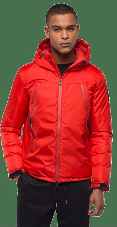 Chaqueta-Para-Hombre-Jacket-Rojo-M-Replay