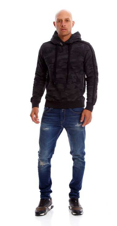 Buzo-Para-Hombre-Camo-All-Over-Melange-Fleece-Replay