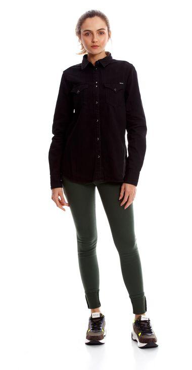 Camisa-Para-Mujer-6-Oz-Black-Denim-Replay