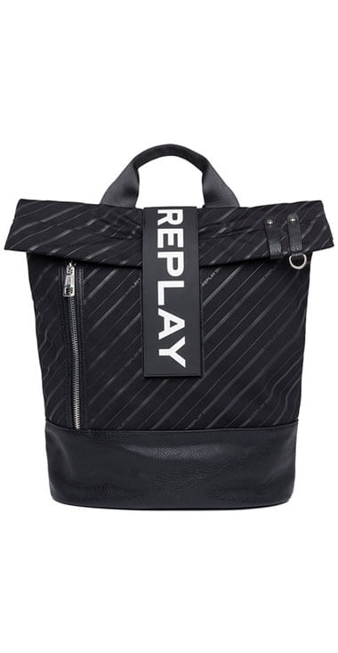 Bolso-Para-Hombre-Logoed-Technical-Fab-Replay
