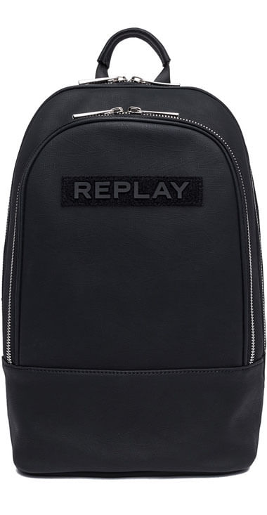 Bolso-Para-Hombre-Big-Bag-With-Zipper-Replay