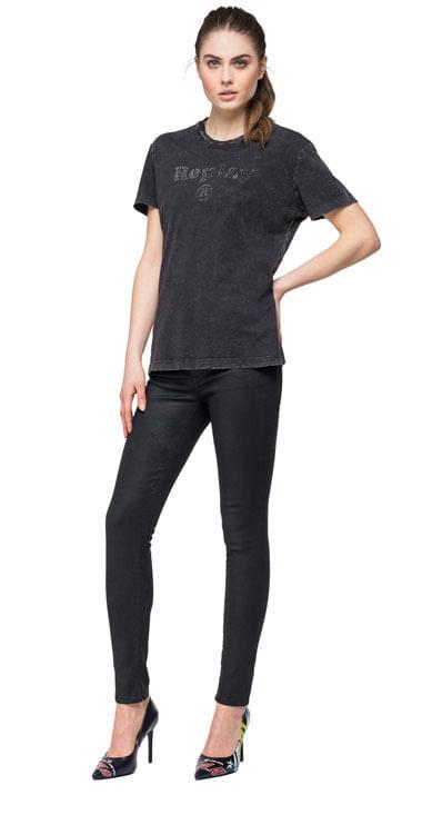 Camiseta-Para-Mujer-Garment-Dyed-Cotton-Replay