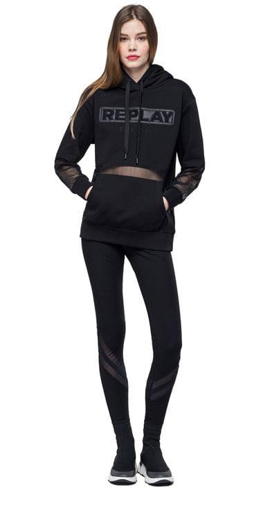 Buzo-Para-Mujer-Bonded-Fleece-Replay