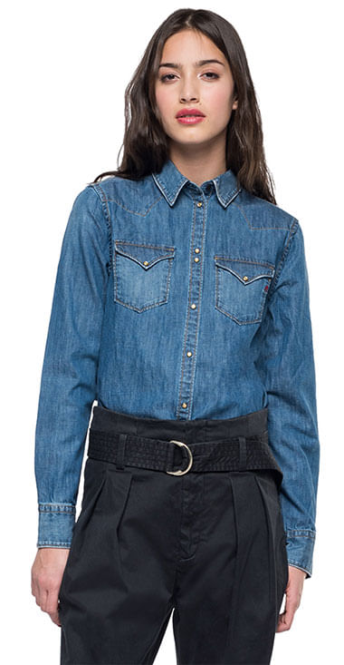 camisa-para-mujer-7-oz-deep-blue-denim-replay