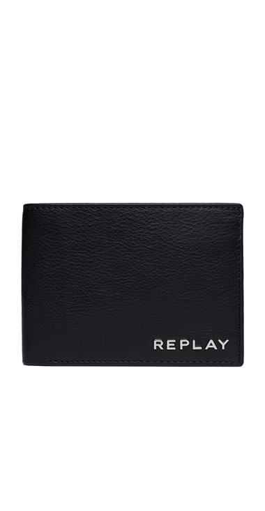 Billetera-Para-Hombre-Leather-Wallet-Replay