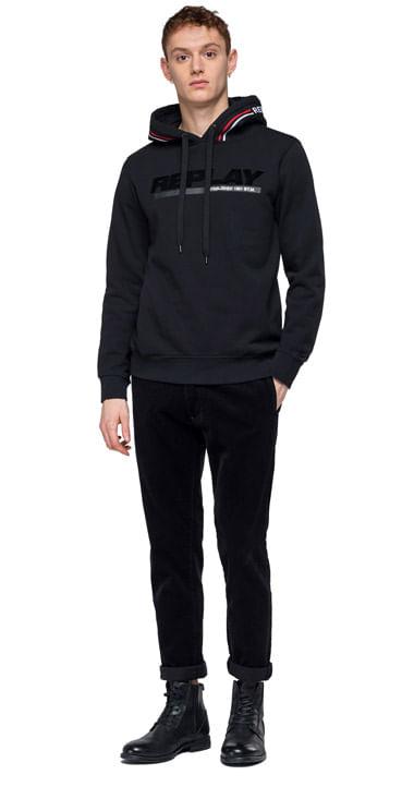buzo-para-hombre-cotton-fleece-hoodie-replay