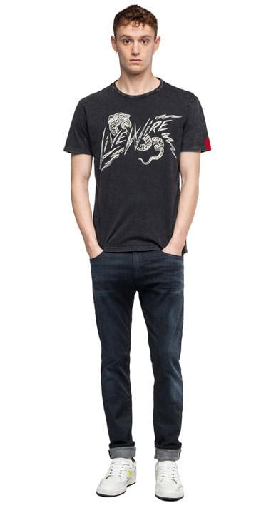 camiseta-para-hombre-cotton-jersey-replay