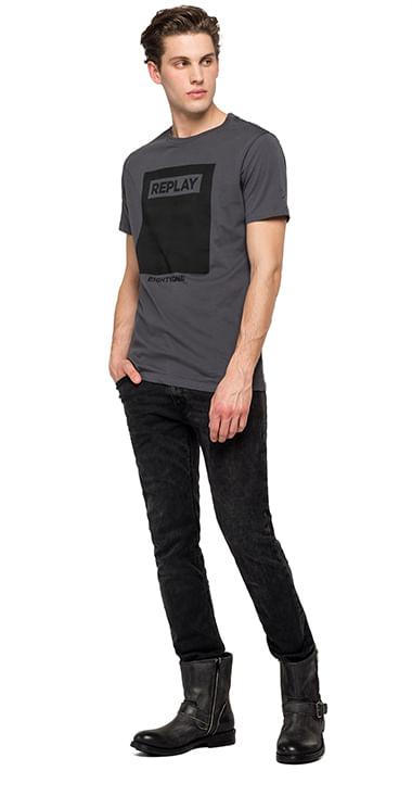 Camiseta--Para-Hombre-Fine-Cotton-Jersey-Replay