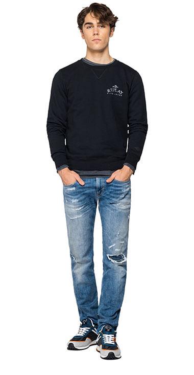 Buzo-Hoodie-Abierto-Para-Hombre-Organic-Cotton-Fleec-Replay