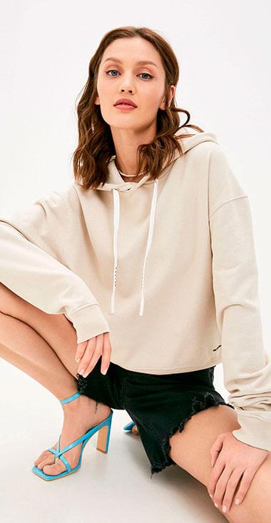Buzo-Hoodie-Cerrado-Para-Mujer-Piece-Dyed-Organic-Cotton-Fleece-Replay
