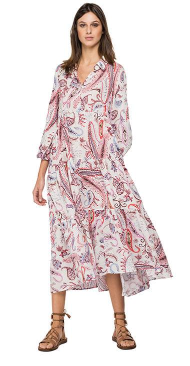 Vestido-Largo-Para-Hombre-All-Over-Printed-Replay