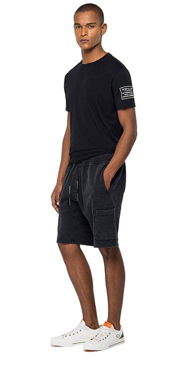 Bermuda-Short-Para-Hombre-Garment-Dyed-Cotton-Fleece-Replay