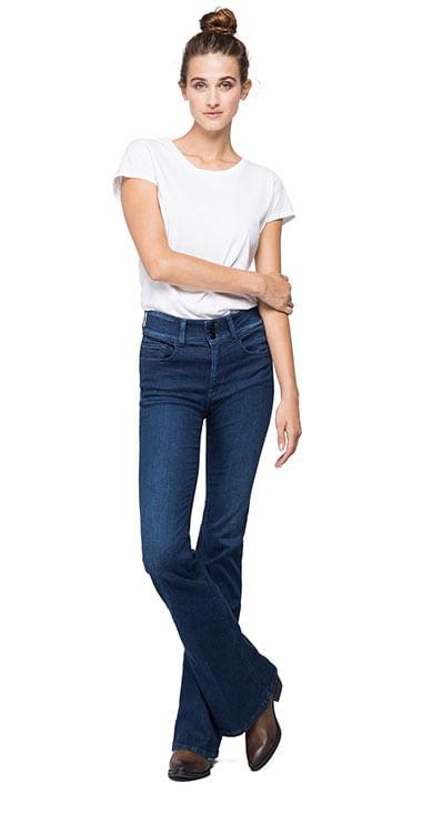 Jean-Stretch-Para-Mujer-Newluz-Flare-Replay