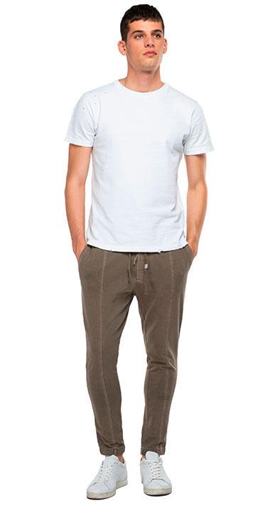 Sudadera-Para-Hombre-Garment-Dyed-Heavy-Cotton-Jersey-Replay