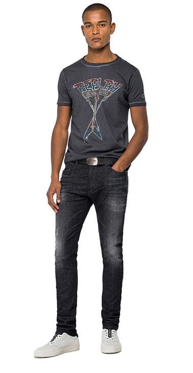 Camiseta-Para-Hombre-Open-End-Jersey-Replay