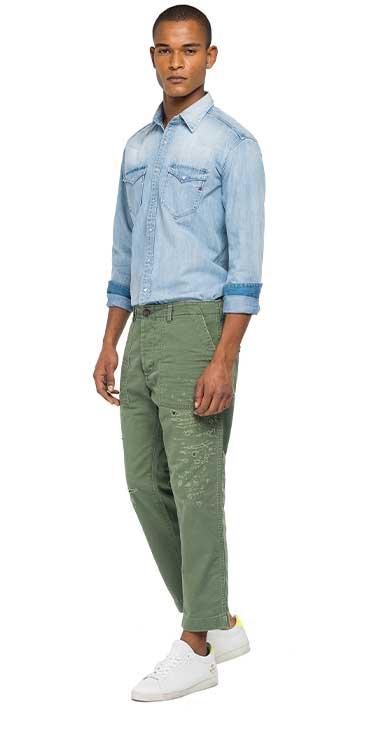 Pantalon-Cargo-Para-Hombre-Pants-Replay