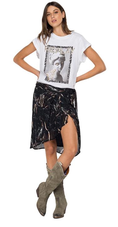 Falda-Media-Para-Mujer-All-Over-Printed-Replay