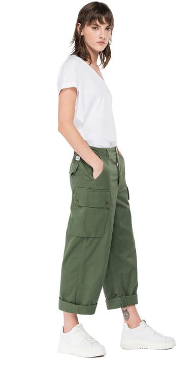 Pantalon-Cargo-Para-Mujer-Cotton-Satin-Replay