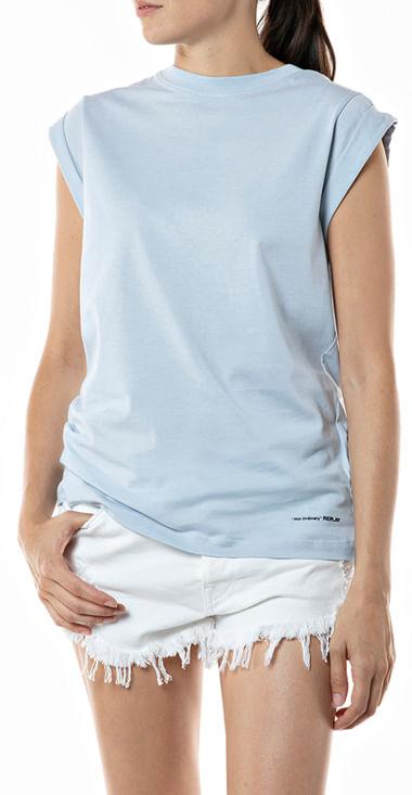 Camiseta-Para-Mujer-Piece-Dyed-Organic-