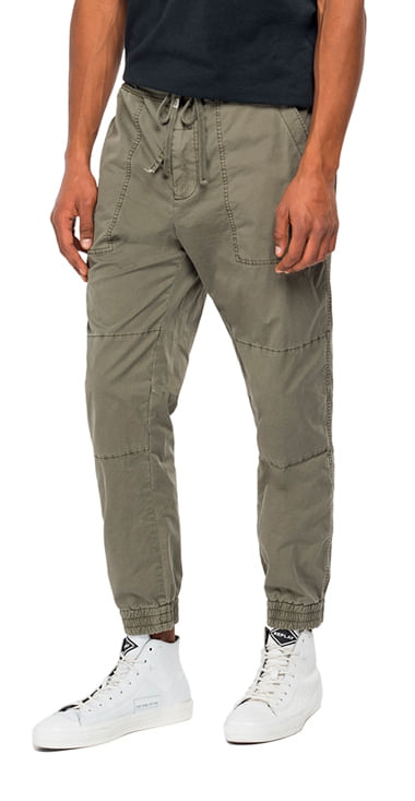 Sudadera-Para-Hombre-Garment-Dyed-Comf-Replay