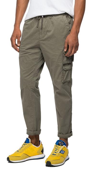 Pantalon-Cargo-Para-Hombre-Garment-Dyed-Comf-Replay